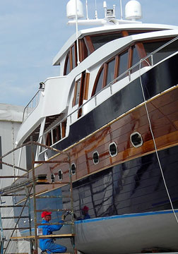 boat builder boatyard