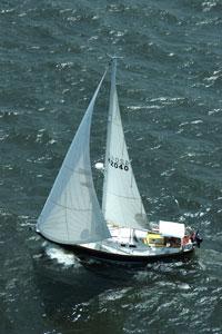 boating on Chesapeake Bay, Maryland