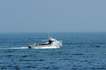 fishing boat near the Delaware coast
