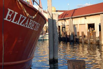 commercial fishing boat - Barnegat Bay, New Jersey