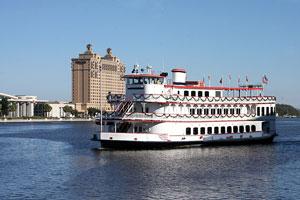 river boat, Savannah, Georgia