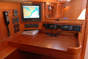 sailboat navigation controls