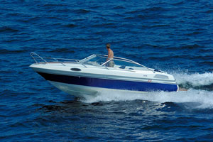small powerboat