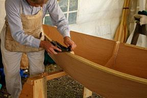 wooden boat builder